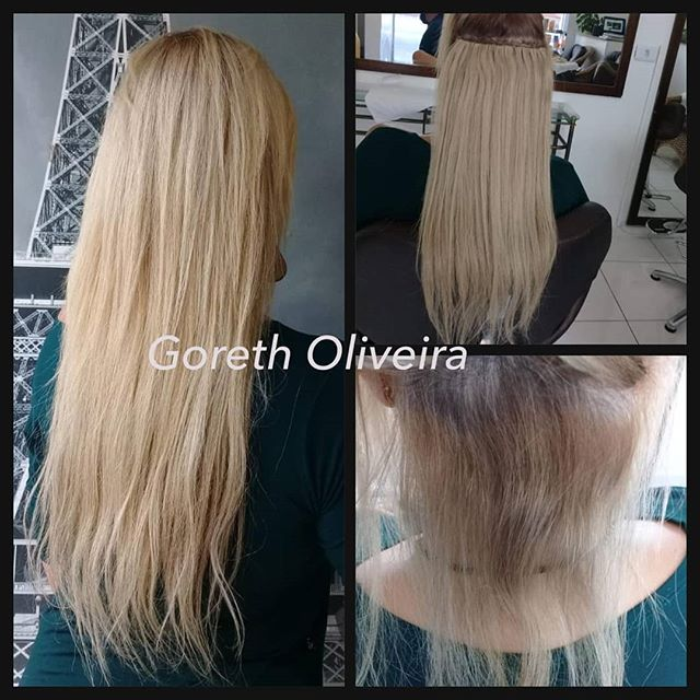 mega loiro mega hair cabelos loiros