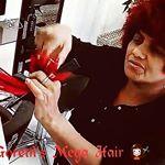 corte design cabelos vermelhoes